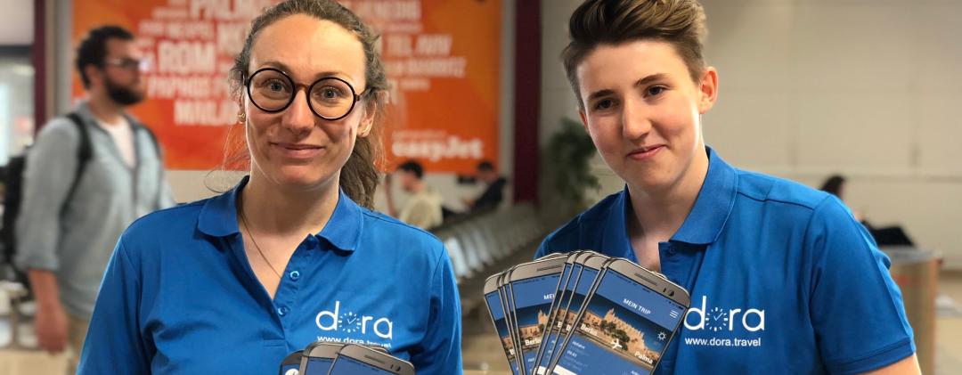 Mit Dora nach Palma | EU-Projekt startet App-Prototyp für Tür-zu-Tür-Reiseinformation